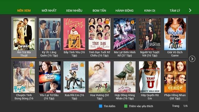 Xem kho phim HD miễn phí của truyền Hình fpt đồng nai
