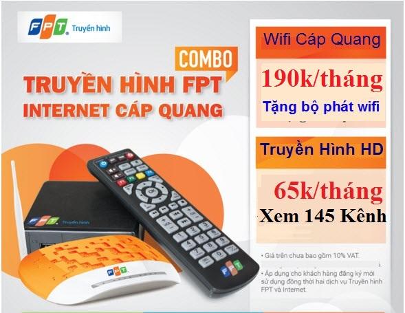 gói cước truyền hình internet fpt Đồng Nai
