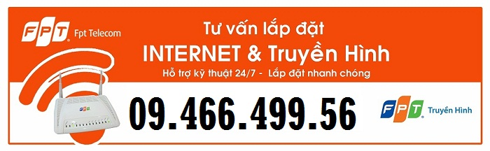 lắp mạng internet và truyền hình fpt tại Trảng Dài