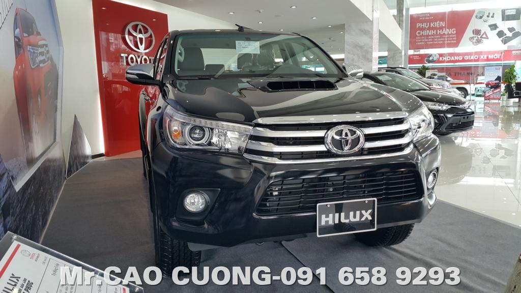 Toyota Hilux G 2016 Vận hành và Chế độ gài cầu điện.