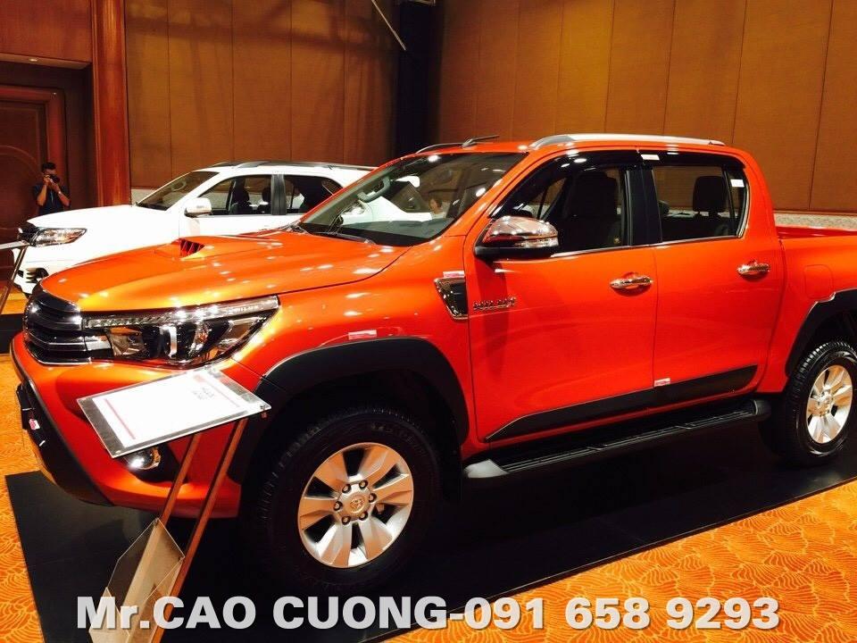 Toyota Hilux 2016 An toàn vượt trội