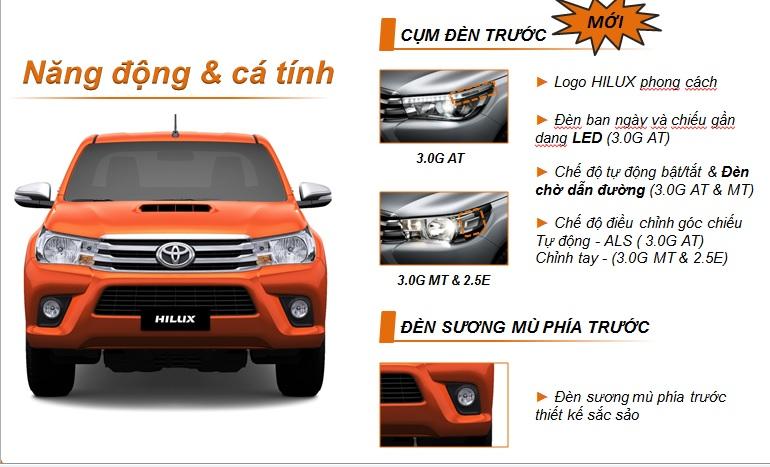 Ngôn ngữ thiết kế của Toyota Hilux 2016