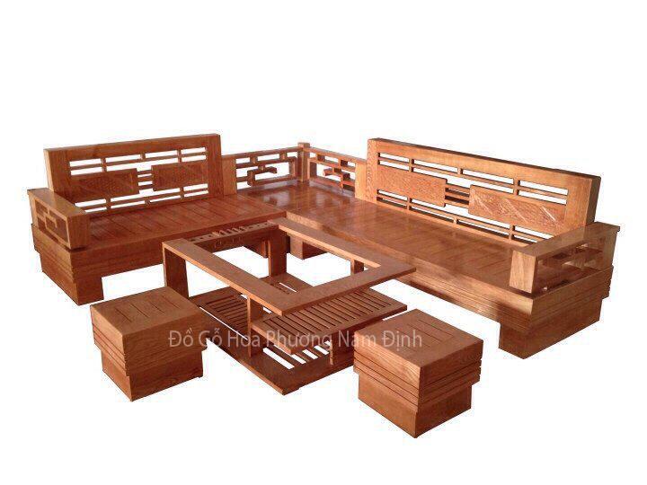Bộ sofa góc hiện đại