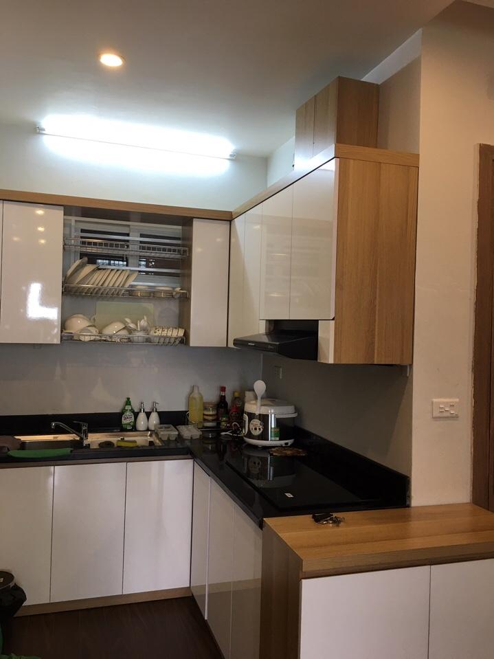 Hệ tủ bếp MFC cốt xanh