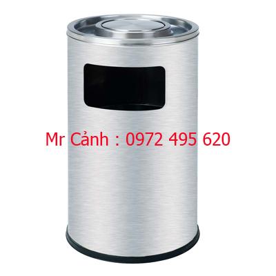 thùng rác inox a48-g
