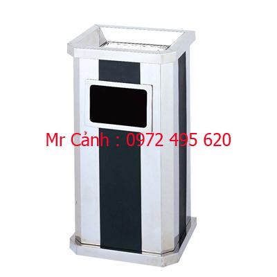 thùng rác inox A61
