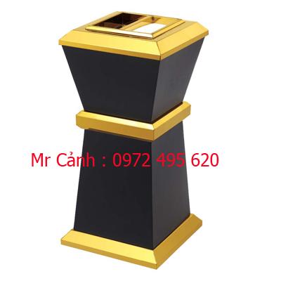 thùng rác inox A86-A