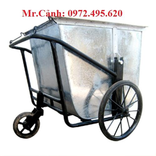 xe gom rác 500 lít giá rẻ