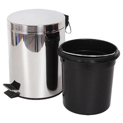 thùng rác inox đạp chân 5 lít, 7 lít , 8 lít , 12 lít , 20 lít