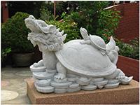 Linh vật Rùa cưỡi Kim Quy