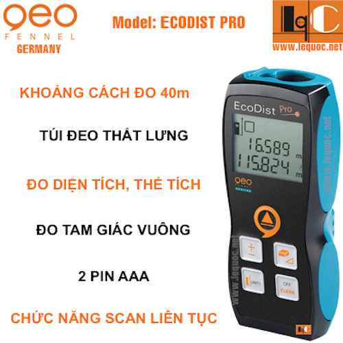 Thước đo laser Ecodist Pro