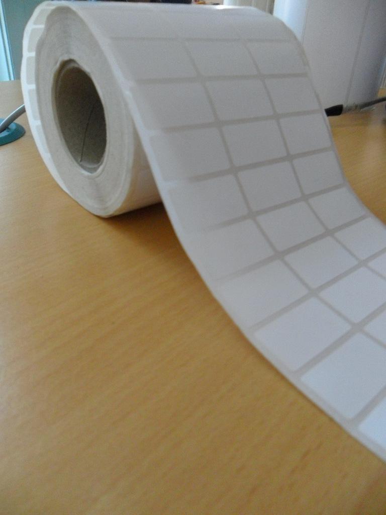 Decal giấy 3 tem chuẩn siêu thị