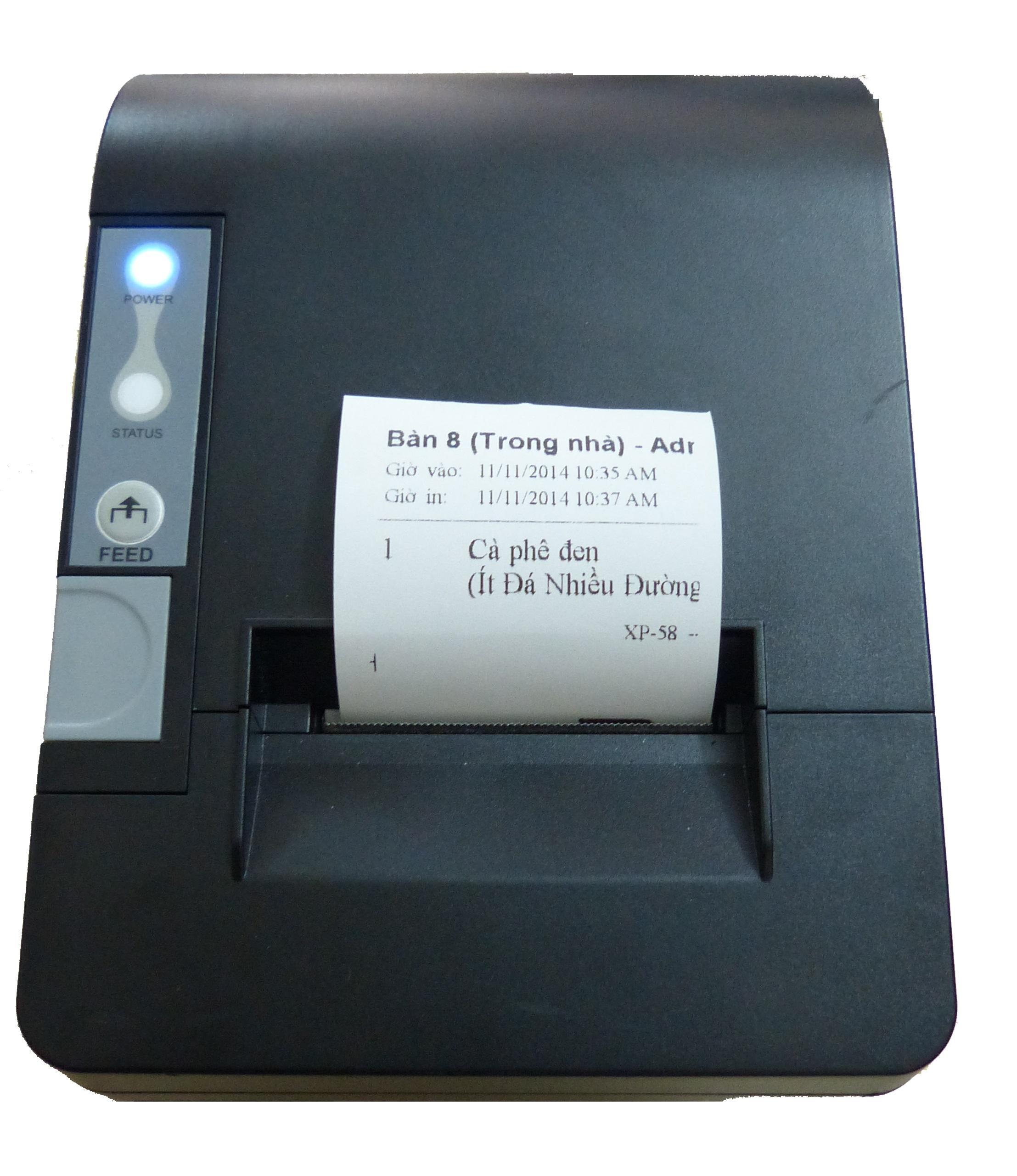 Máy in hóa đơn XP-TH58ii