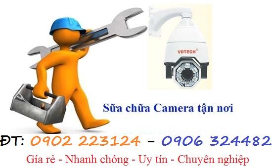 Chuyên nhận sửa chửa, cài đặt Camera mọi lúc, mọi nơi