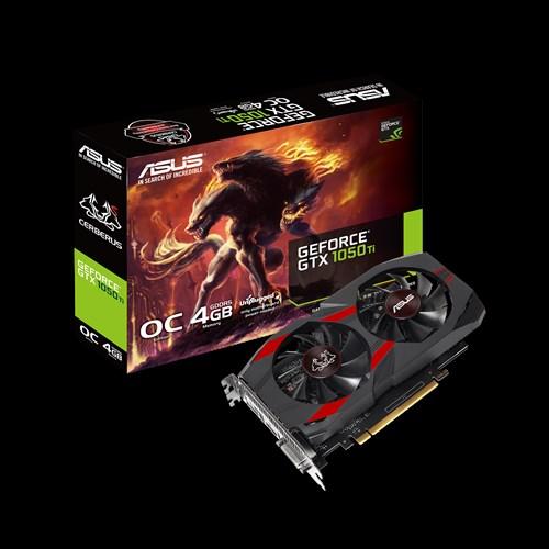 ASUS Cerberus GeForce GTX 1050 Ti - 4GB