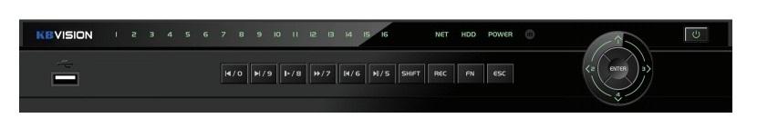Đầu ghi hình 16 kênh 5 in 1 KBVISION KX-7216D5