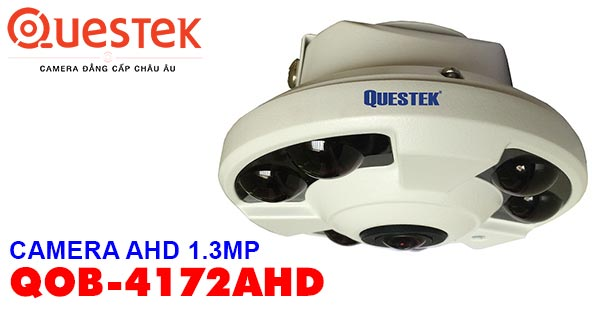 CAMERA FISH EYE AHD 1.3MP QUESTEK ONE QOB-4172AHD