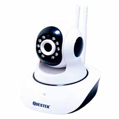 CAMERA IP WIFI 1.3MP 2 ANTEN QUESTEK QOB-922IP