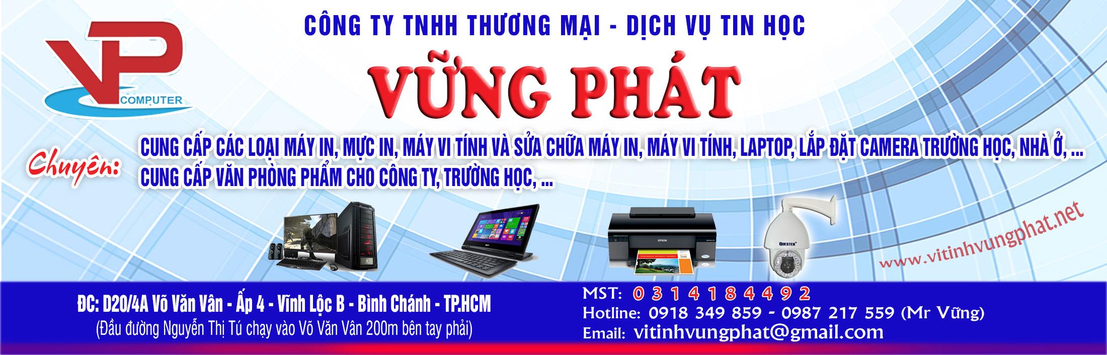 Công Ty TNHH Thương Mại Dịch Vụ Tin Học Vững Phát