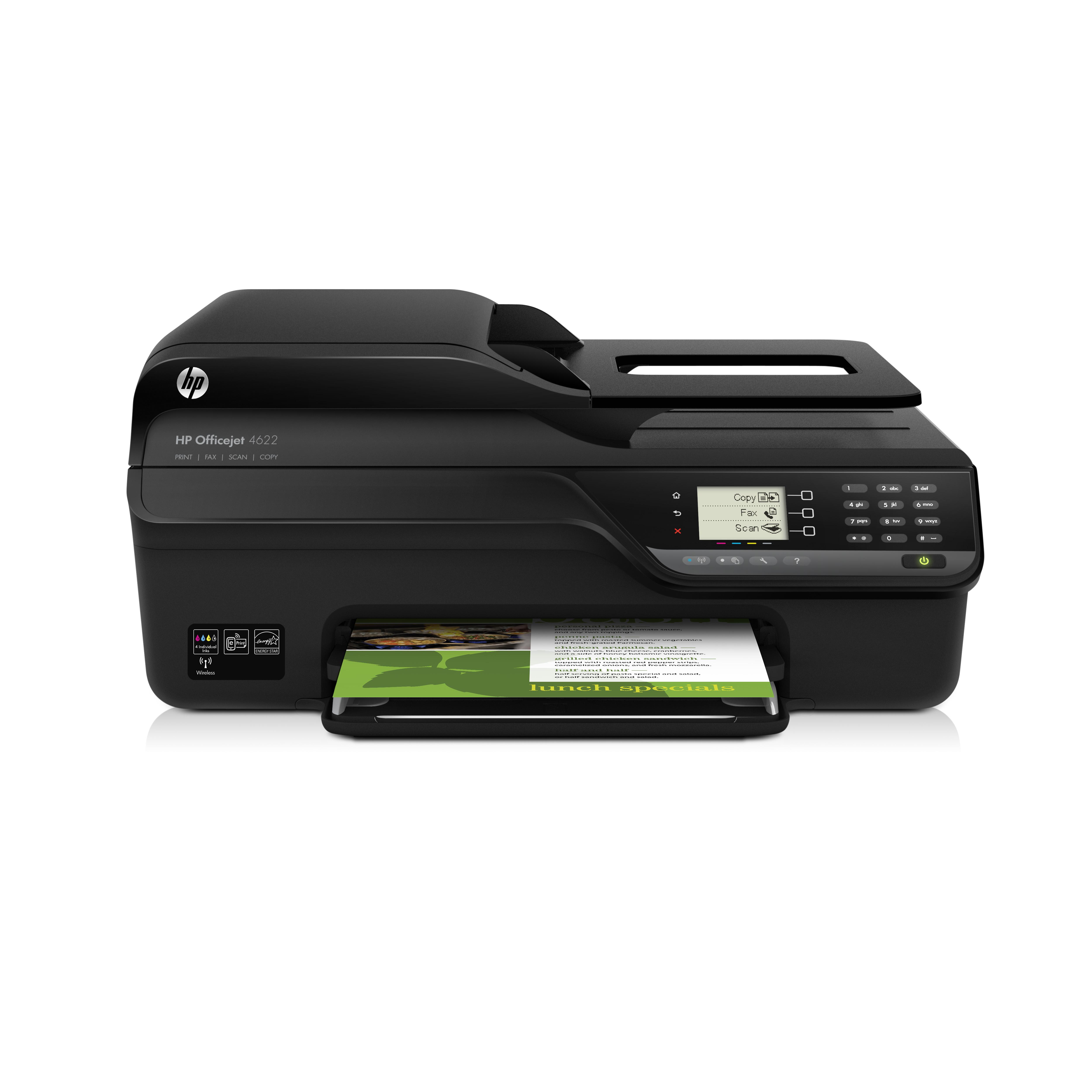 Máy in phun màu HP Officejet 4622( In -Scan- Fax-Foto) giá rẻ