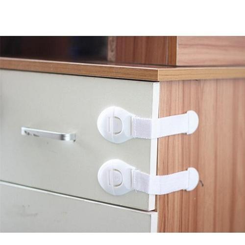 Bộ 2 Dây đai khóa tủ lạnh , ngăn kéo an toàn