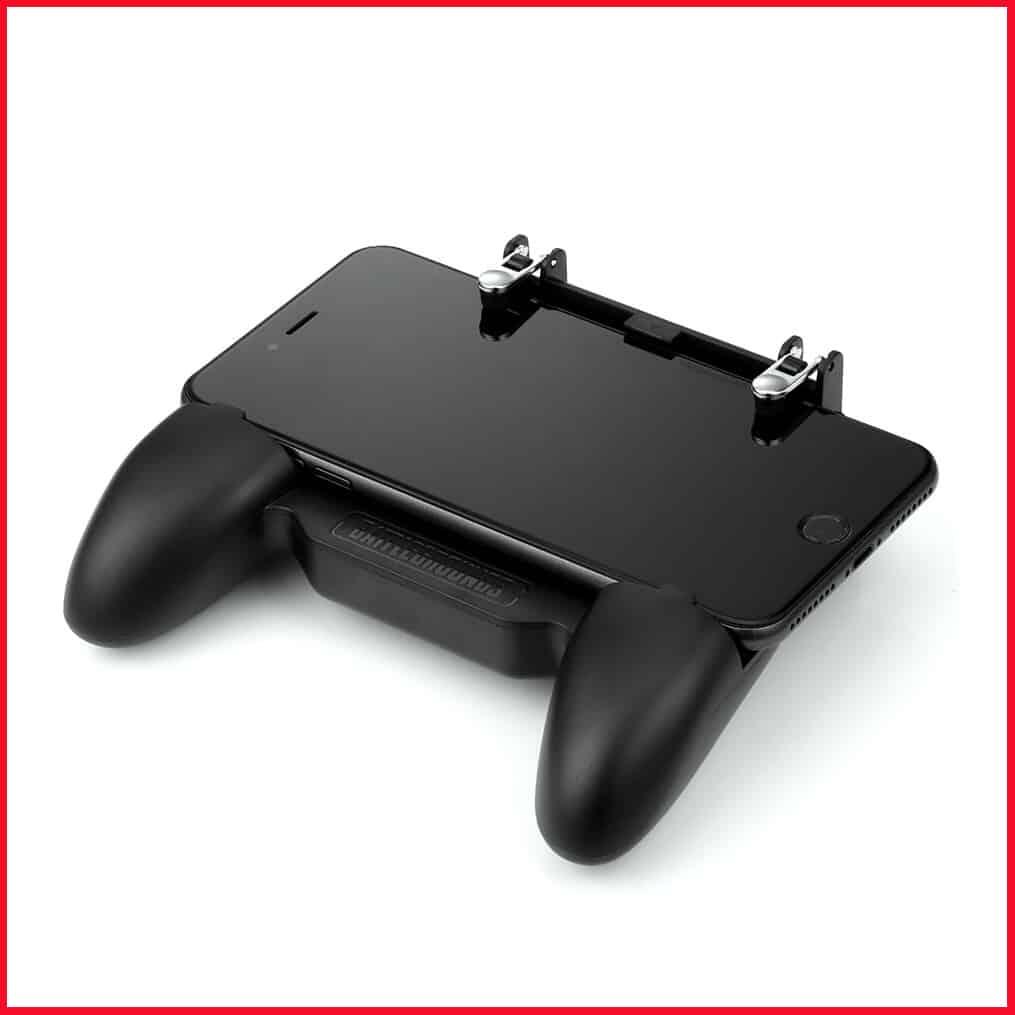 Tay cầm tản nhiệt gamepad SR kèm nút bấm chơi PUBG, RoS, Free Fire