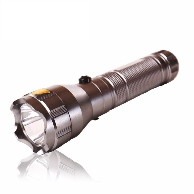 Đèn pin siêu sáng tự vệ KM-L230