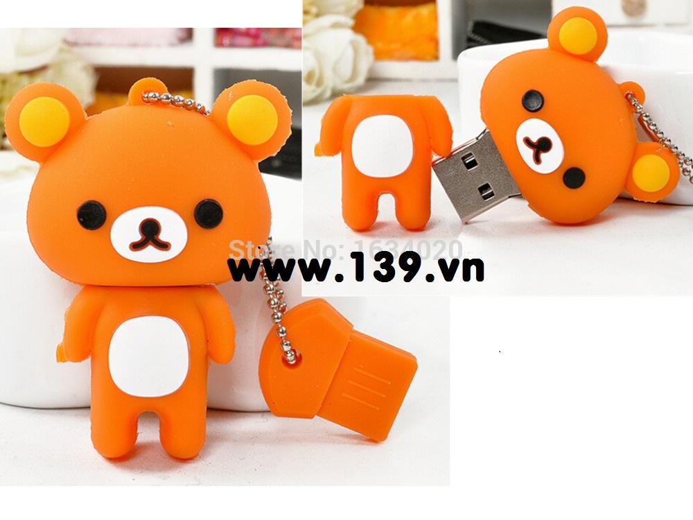 USB 8G hình gấu tetddy