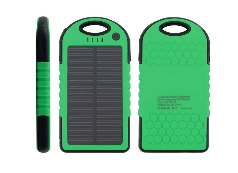 Pin dự phòng năng lượng mặt trời 5000mah