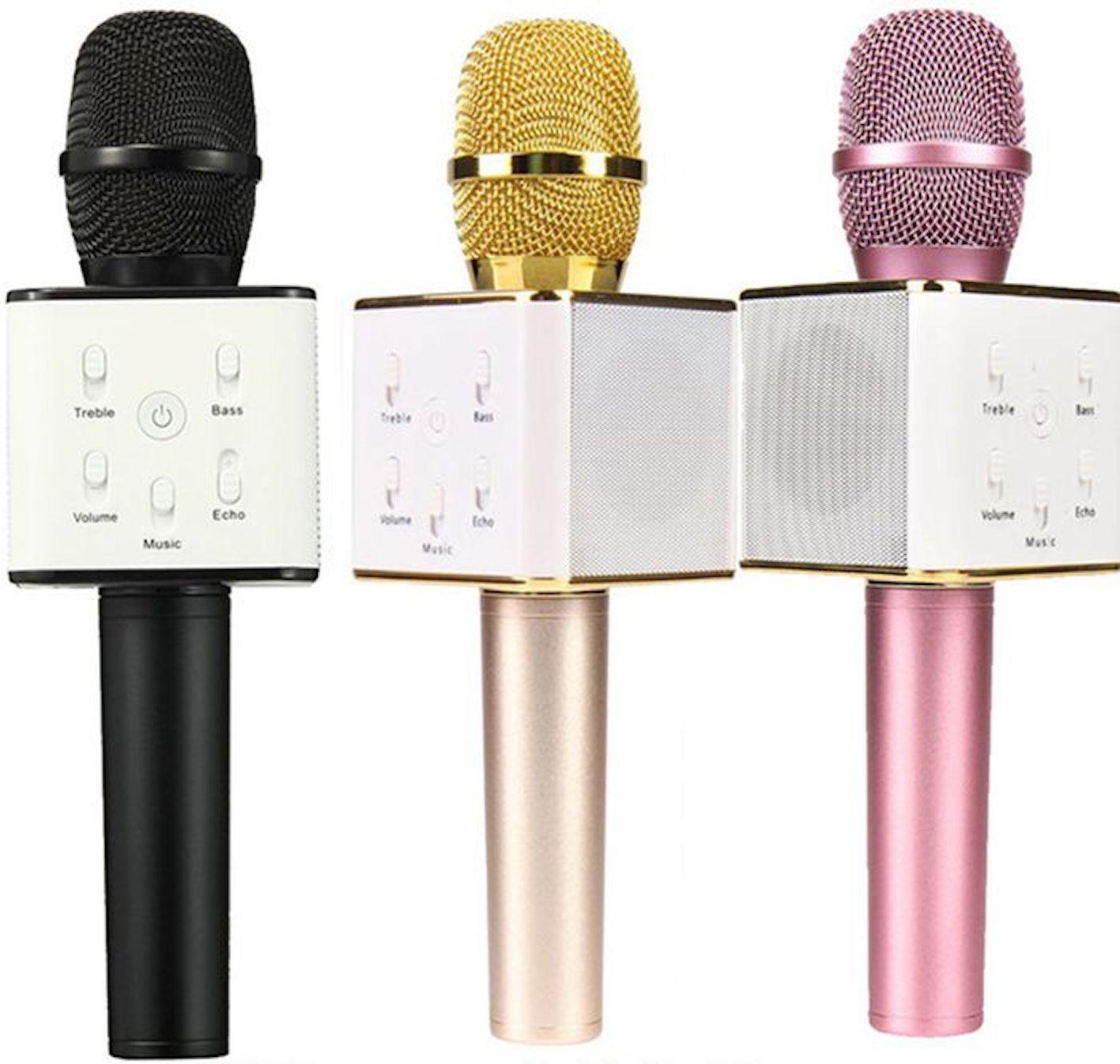 Micro karaoke Q7 (HỘP GIẤY)