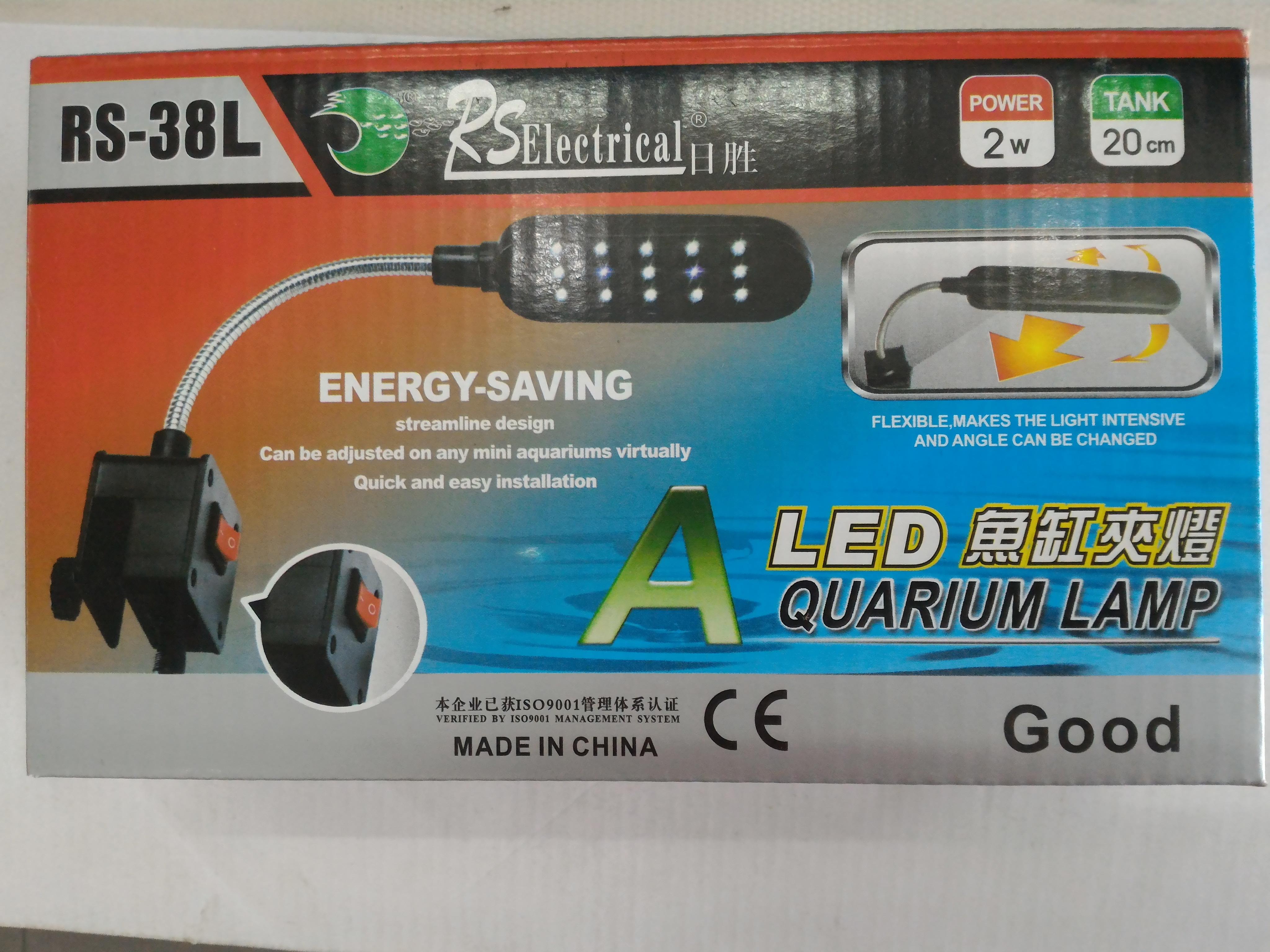Đèn kẹp hồ cá hiệu RS Electrical Model RS-38L
