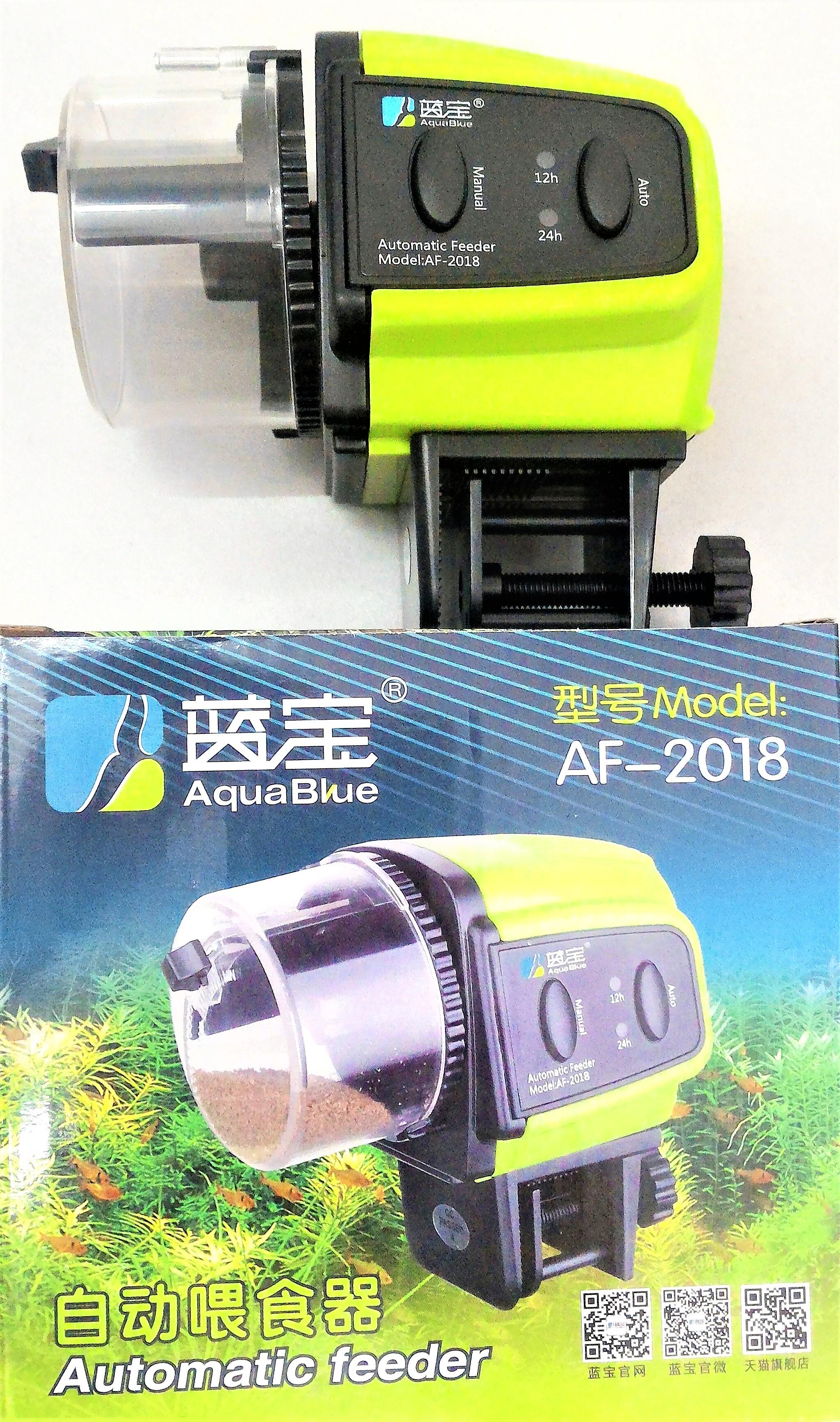 Máy cho cá ăn tự động ( dùng pin ) Hiệu AquaBlue Model AF-2018