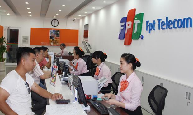 Thu cước FPT Telecom đạt tỷ lệ Vàng