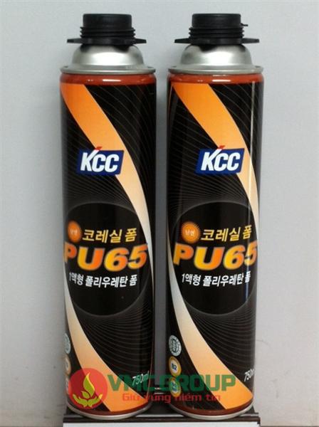 KEO BỌT NỞ CHỐNG CHÁY KCC PU65