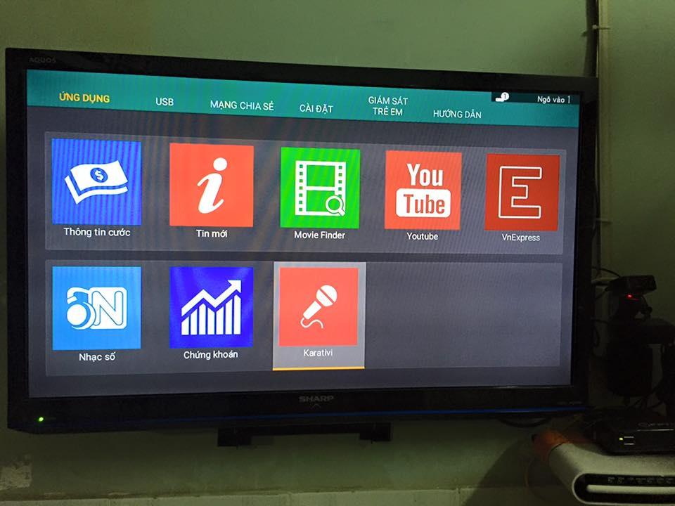 Truyền hình FPT vừa ra mắt ứng dụng hát karaoke trên HD Box FPT