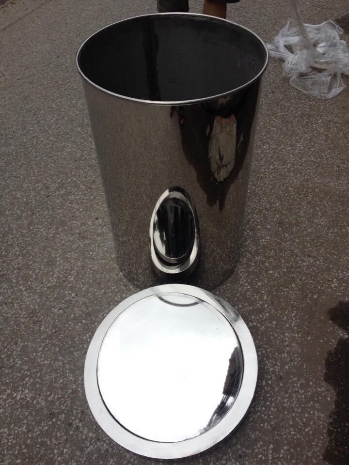 thùng rác inox nắp lật giá rẻ nhất