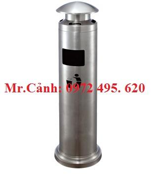 cột gạt tàn thuốc lá để ngoài trời GPX129-F