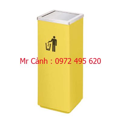 thùng rác vàng A34-F