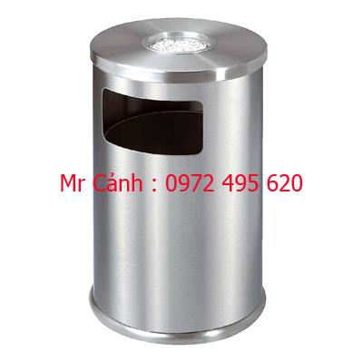 thùng rác inox A34-I