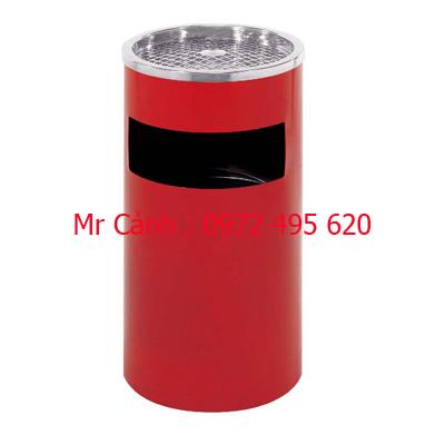 thùng rác màu đỏ A35-A
