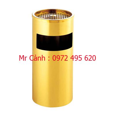 thùng rác mạ vàng a35-a