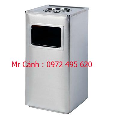 thùng rác inox A90-B