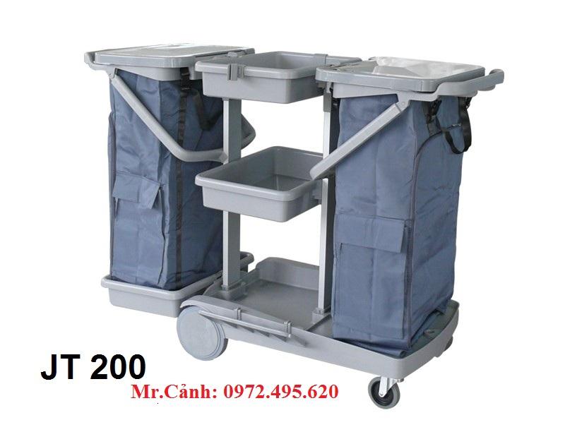 Xe vệ sinh làm phòng JT_200