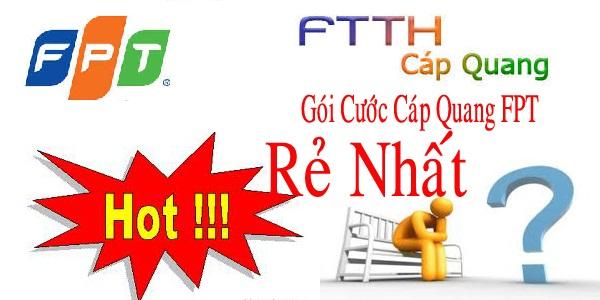 Internet FPT Hà Nam - Gói Cước Cáp Quang Ưu Đãi 2016