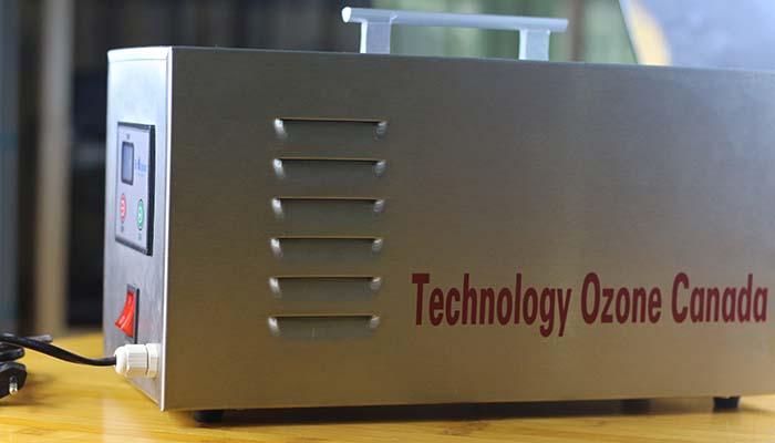 Mặt bên của máy khử mùi ozone C3