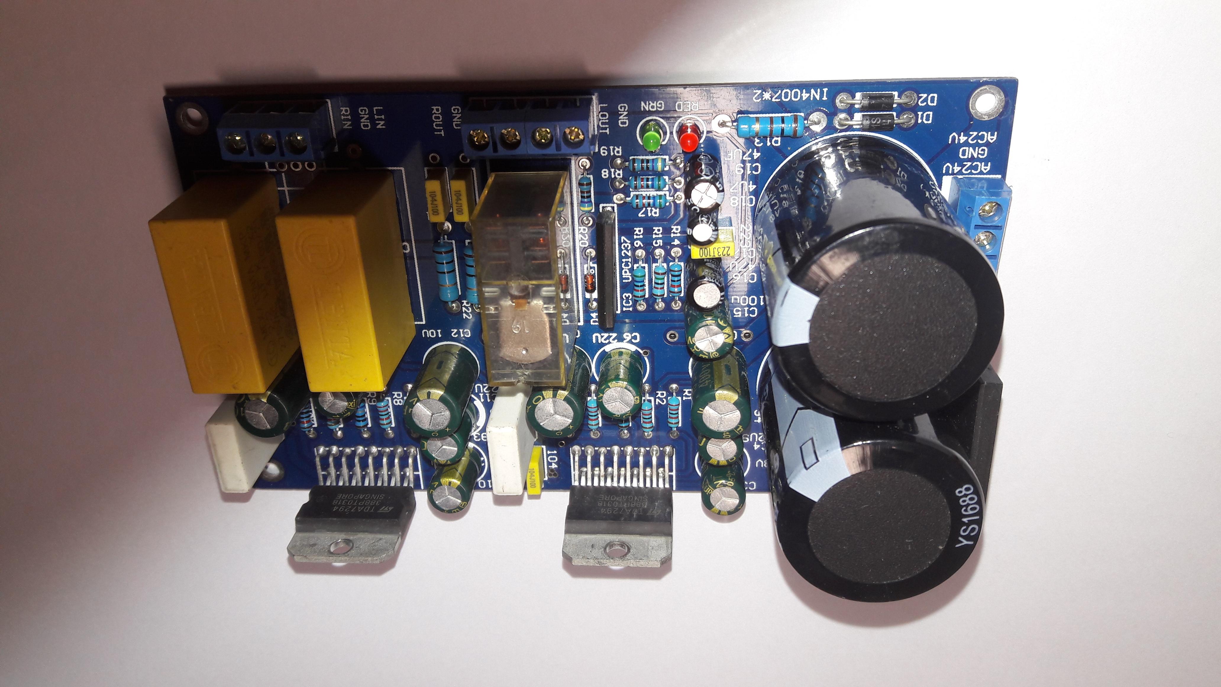 Mạch công suất TDA 7294 2.0 160W