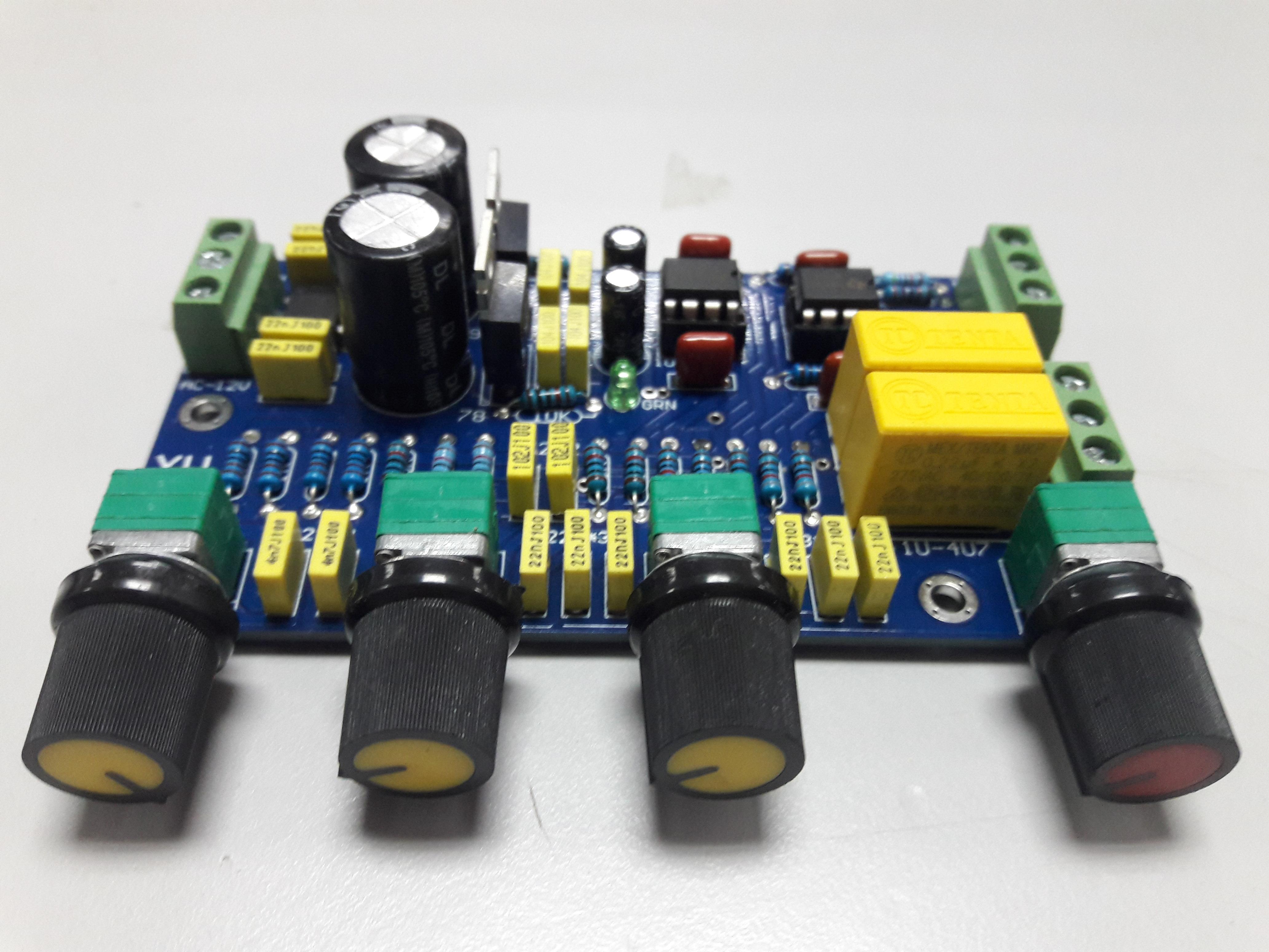 Mạch điều chỉnh âm sắc NE5532 (Mixer)
