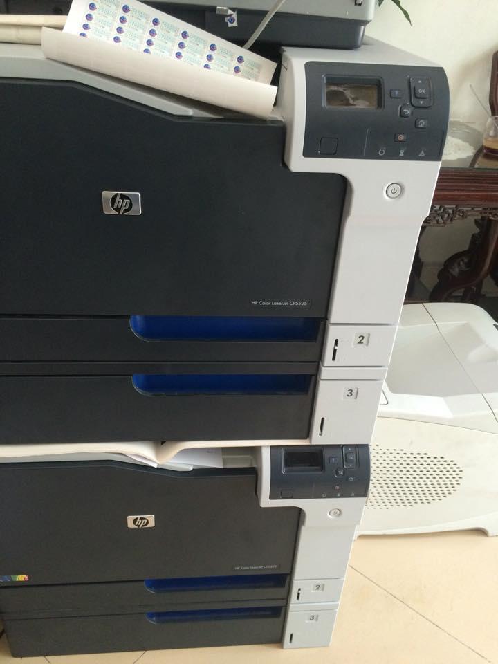 máy in màu hp cp5525 A3