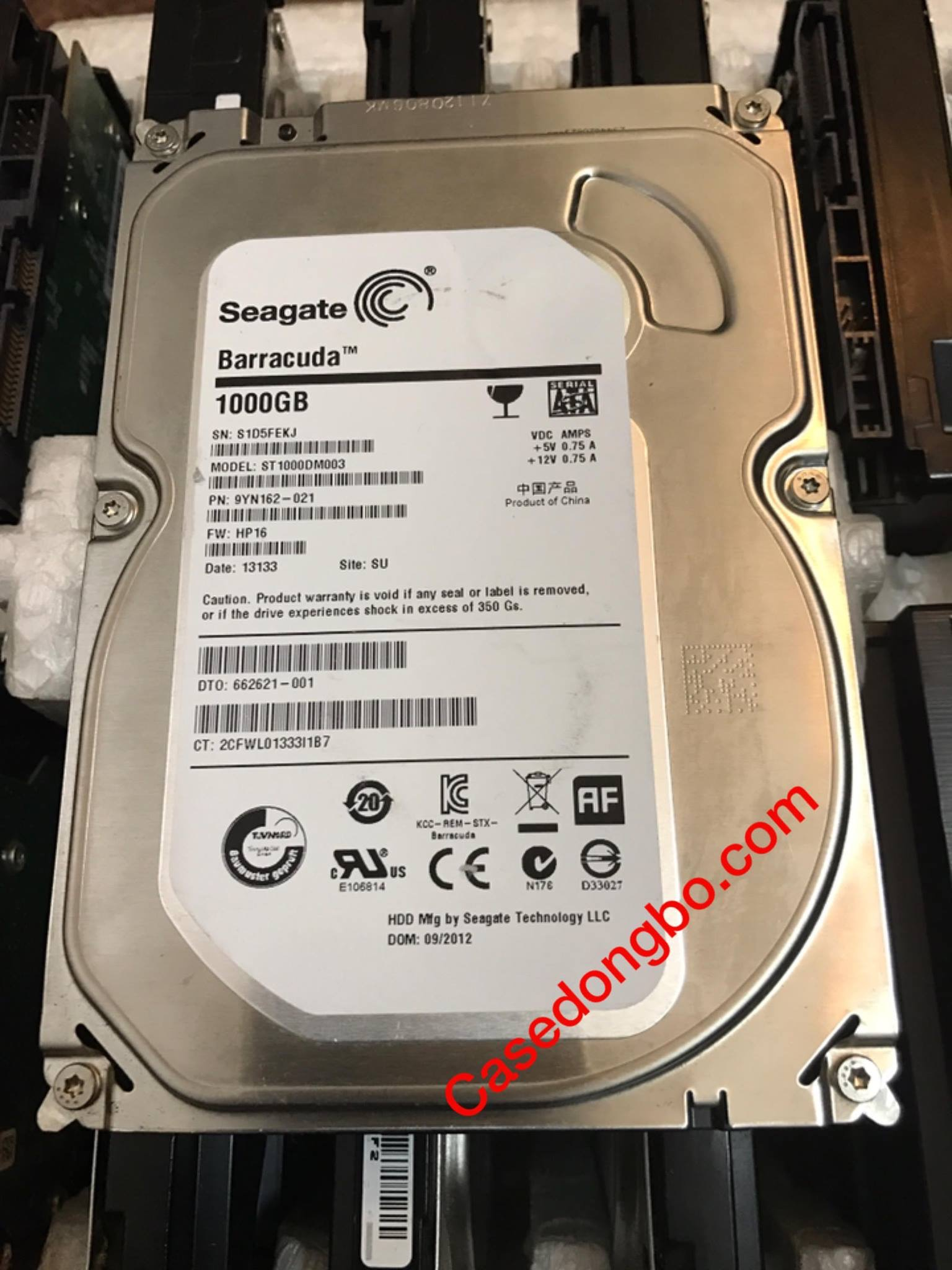 HDD Seagate 1TB/ 7200RPM/64MB cache