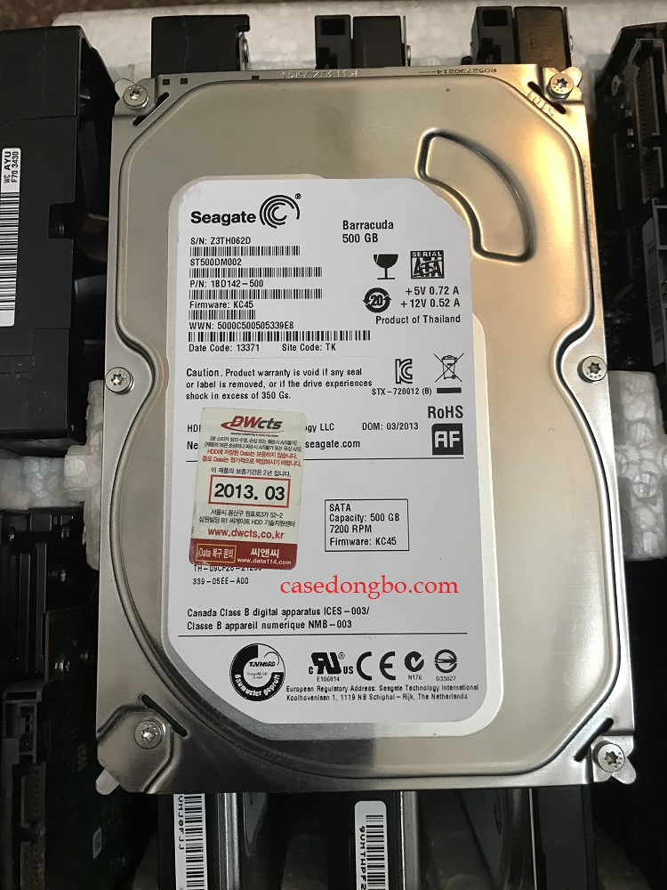 HDD Seagate 500GB